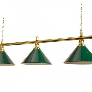 Green - Pool Table Shades with three coolie shades