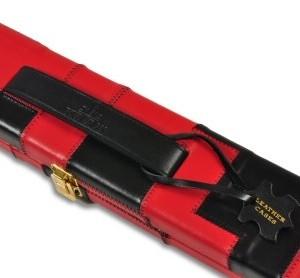 Peradon Leather Black & Red Case