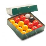 Aramith Premiere Reds & Yellows Pool Balls