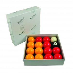 Aramith Standard Reds & Yellows Pool Balls