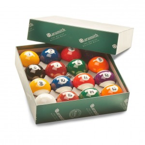 Aramith Engraved Spots & Stripes Pool Balls