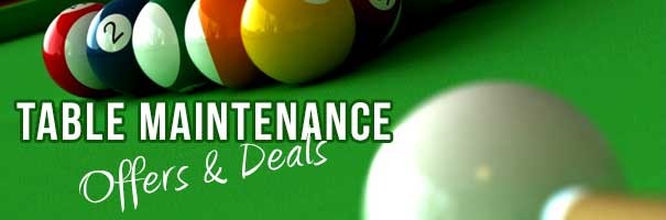 Pool Snooker table offers deals maintenance recovering