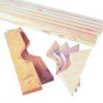 Wooden Slate Linings