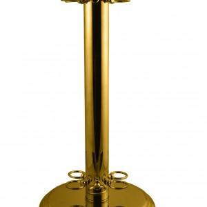 Brassed Circular Cue Rack