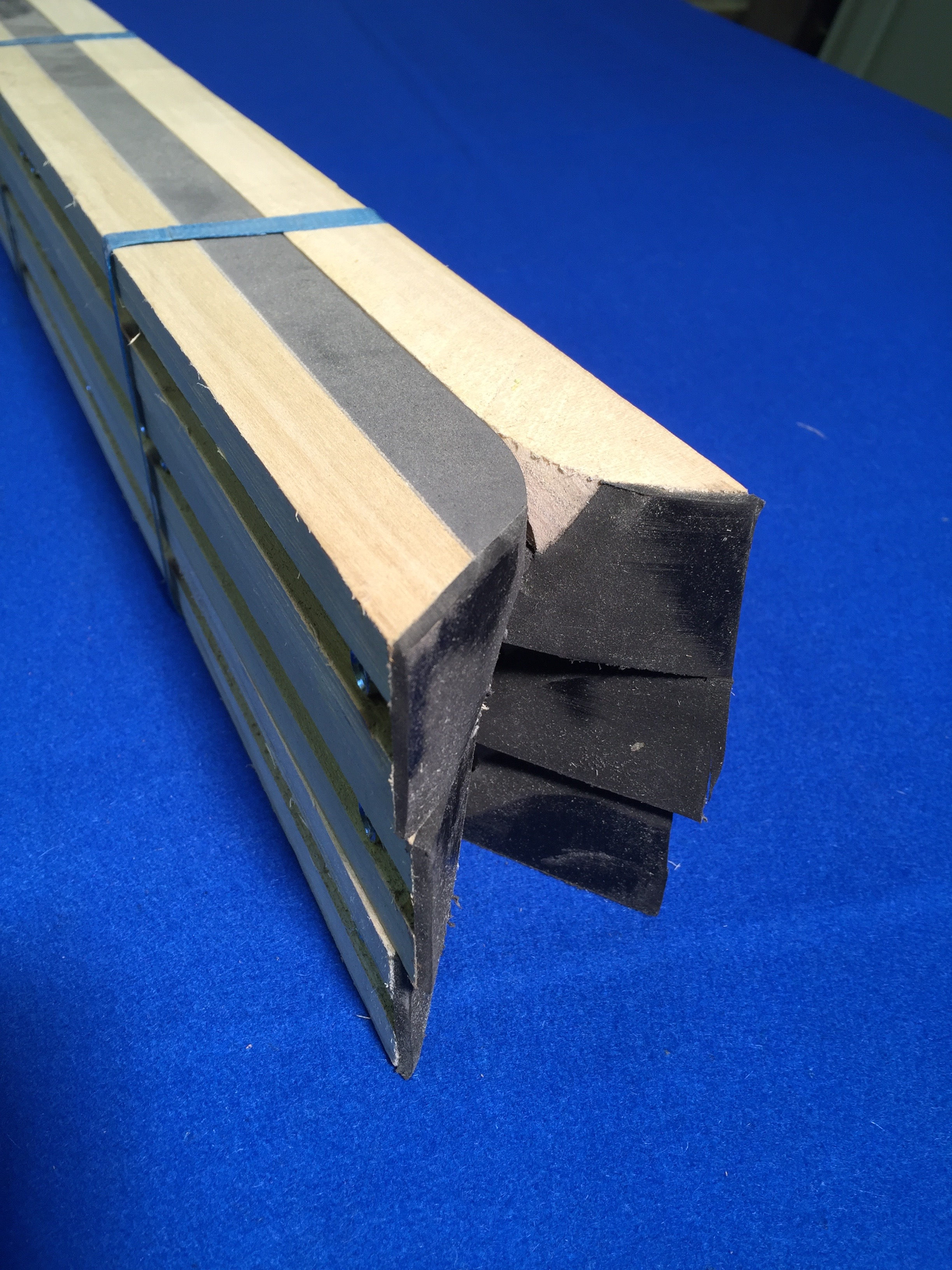 Hazel Grove Superleague 7 Pool Table Cushion Rails